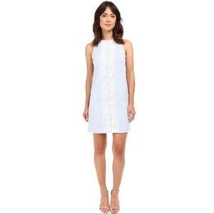 London Times Seersucker Sheath Dress